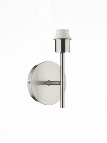 Tuscan Single Wall Bracket Base Only Satin Chrome (Class 2 Double Insulated) BXTUS0746-17